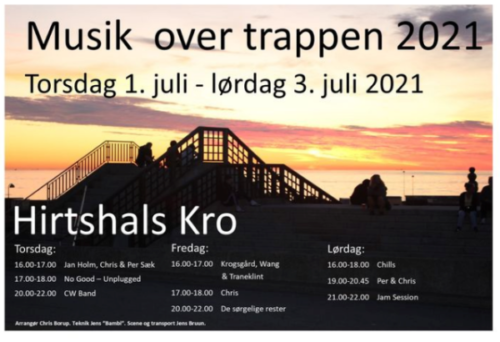 Musik over trappen